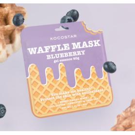 Waffle Mask Blueberry 40g