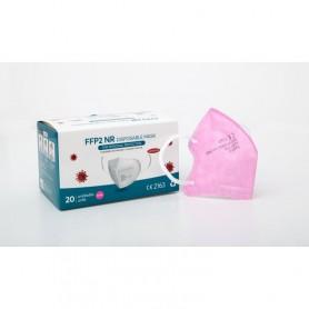 Mascarilla FFP2 infantil rosa