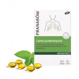 Pranarom cápsulas para bronquios